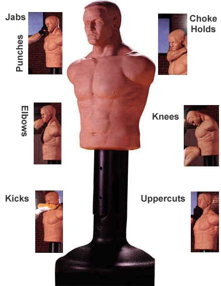 Сделать манекен для бокса своими руками